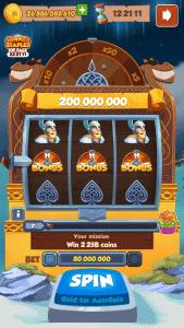 Viking Quest Bonus wheel Coin Master