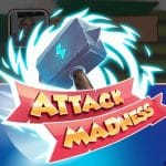 Attack Madness: Stack spins, XP and coins