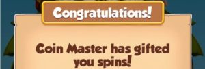 free spins for coin master app