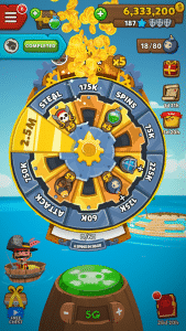 Pirate Kings spin