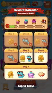 Reward Calendar Rewards