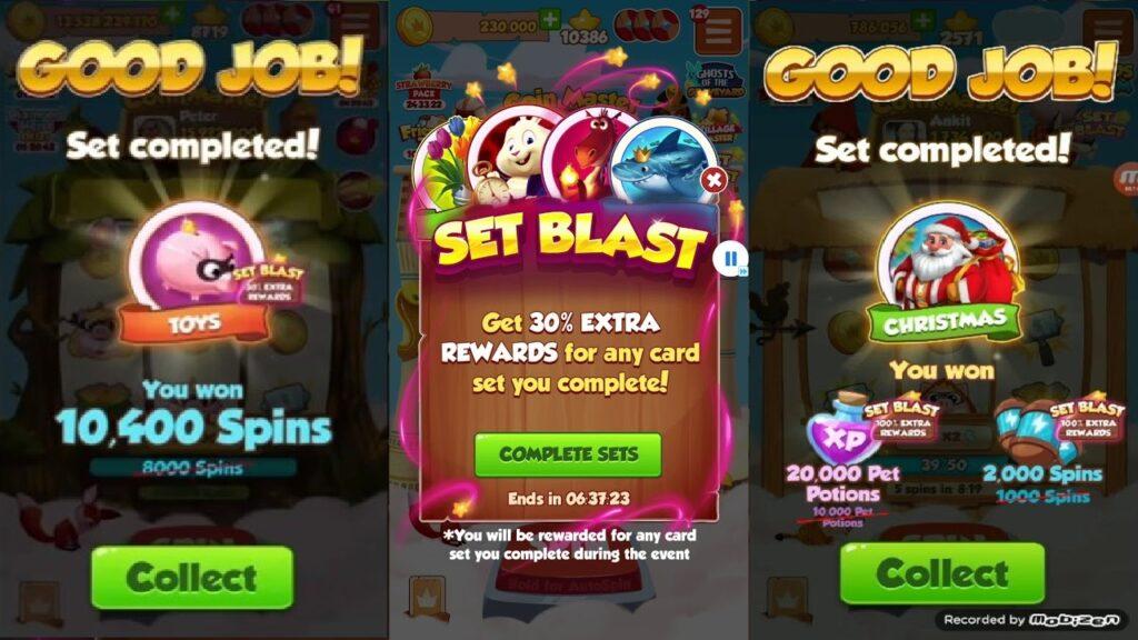 Set Blast Event
