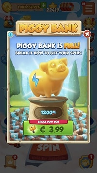 Piggy Bank break it for extra spins