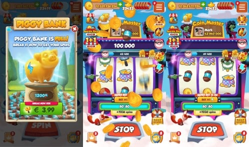 Read more about the article Piggy Bank: a new offer for Spins in Coin Master