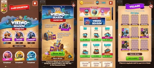You are currently viewing Viking season: new card sets for a short time